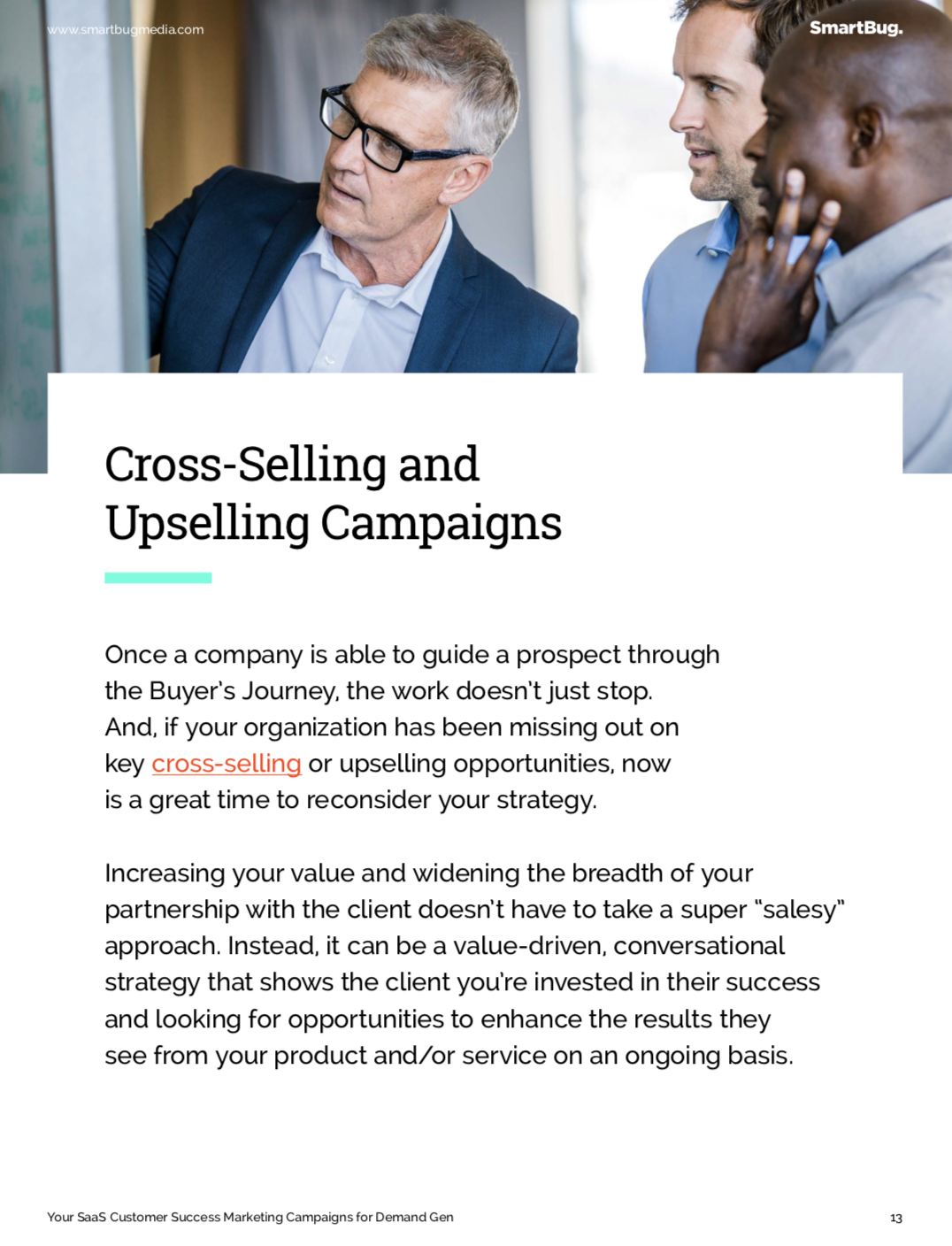 cross-selling and upselling campaigns