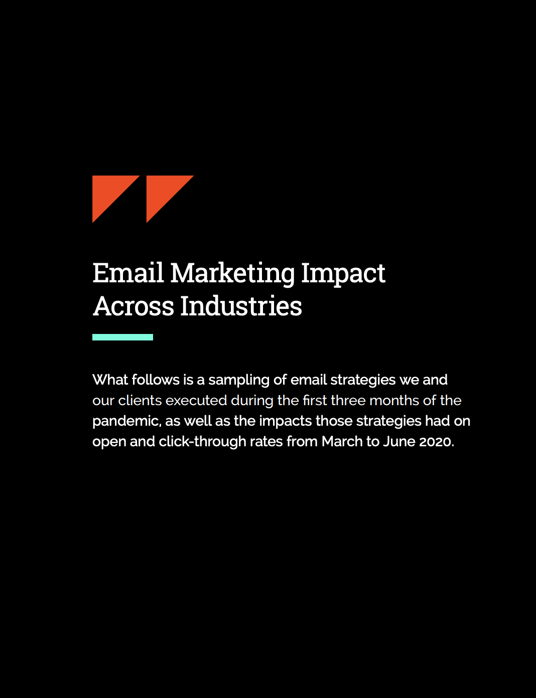 email marketing across industries