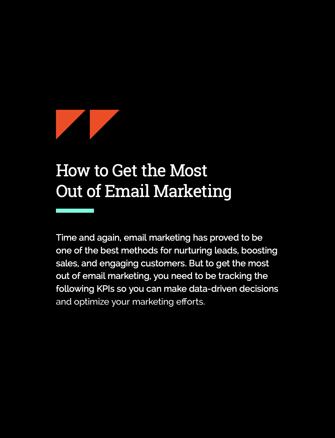 How to get the most out of email