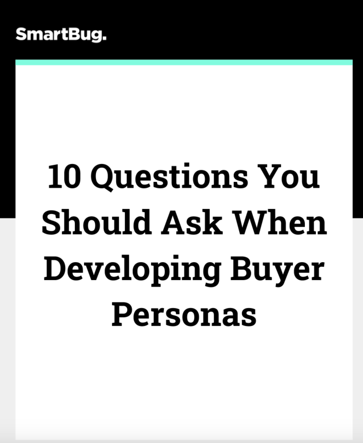 Buyer Persona Interview