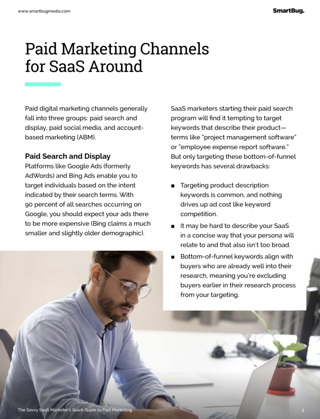 Paid media channels for SaaS