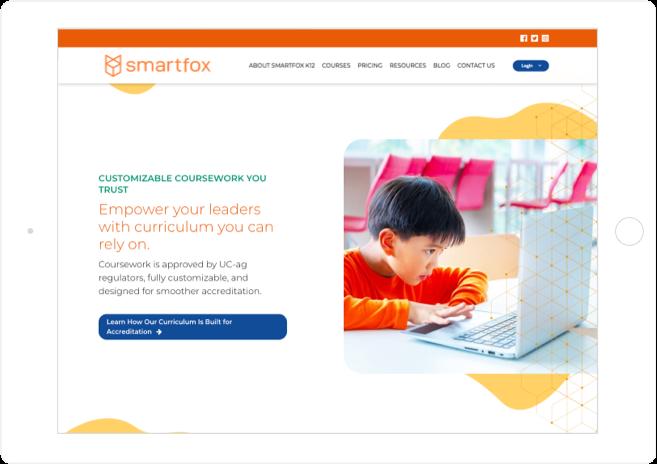 SmartFox Website Design
