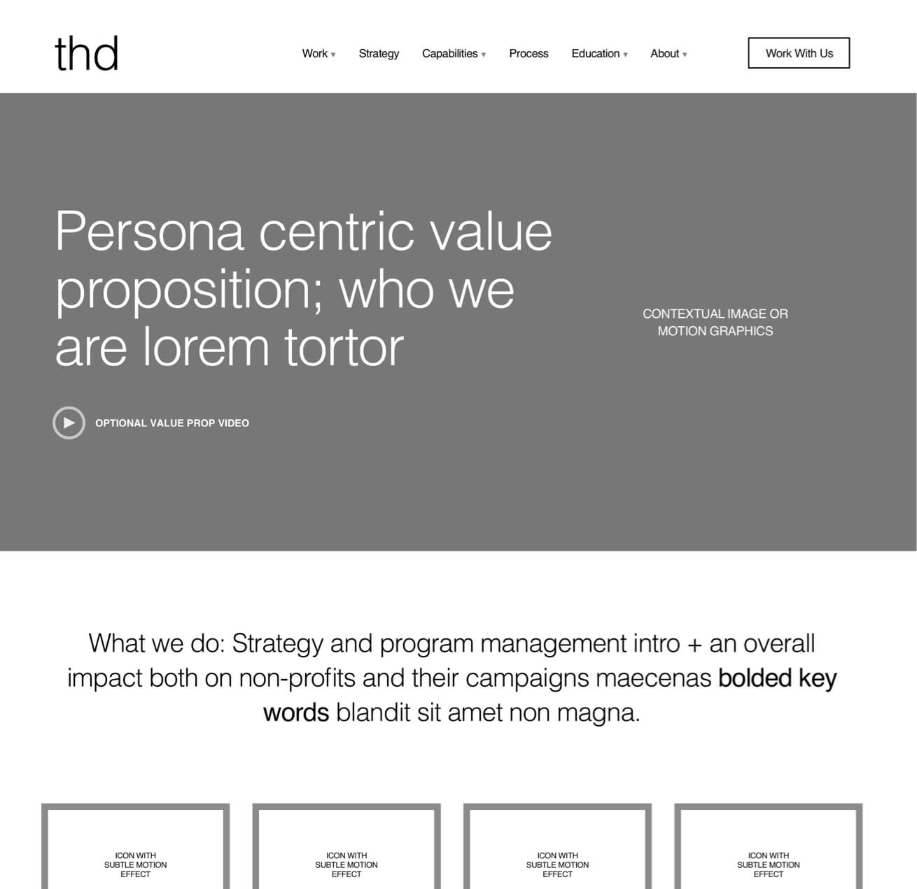THD value proposition on desktop