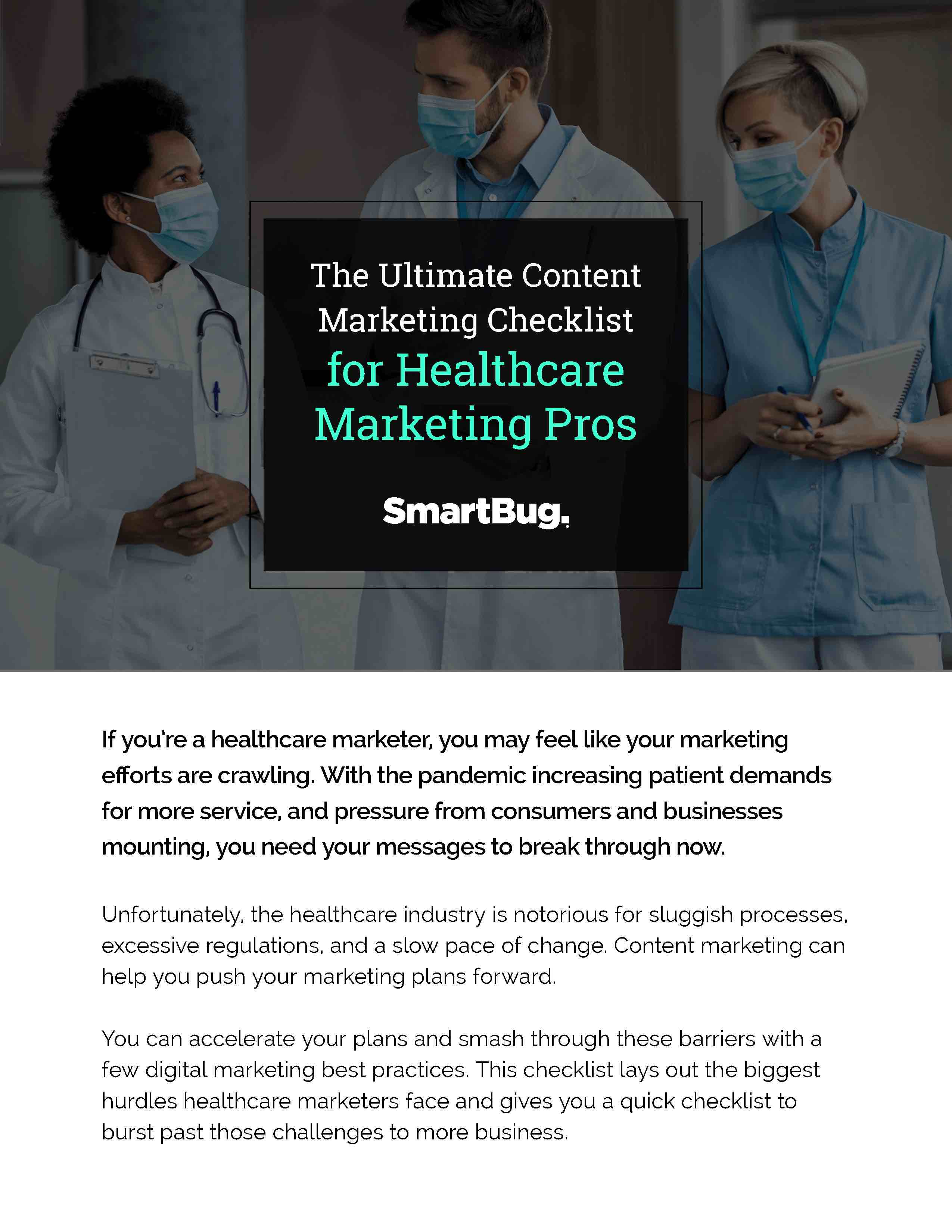 The Ultimate Content Marketing Checklist for Healthcare Marketing_Page_1