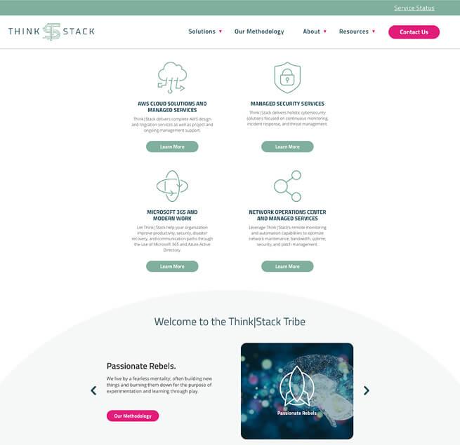 ThinkStack's Reinvigorated Brand