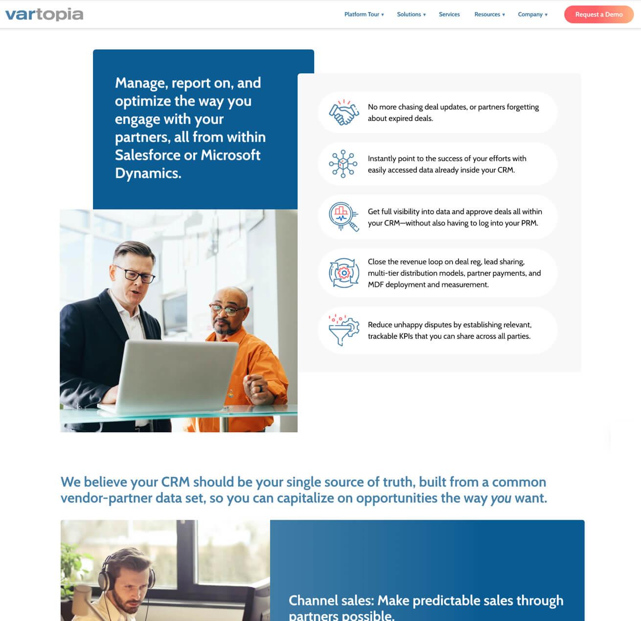 Clean Website Layout
