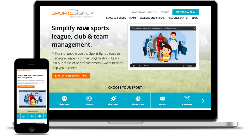 Sports Signup