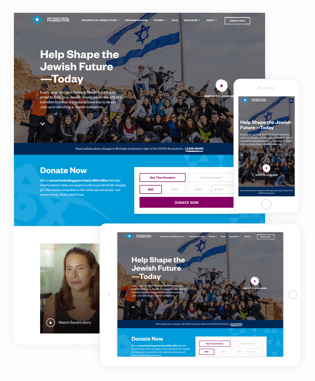 wordpress results birthright israel foundation