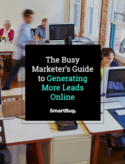 ebook cover The Busy Marketer's Guide to Generating More Leads Online