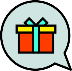 A gift with purchase campaign